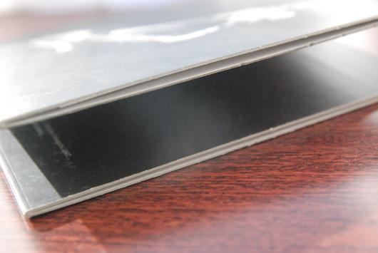 紙ジャケットA式:ポケット部分