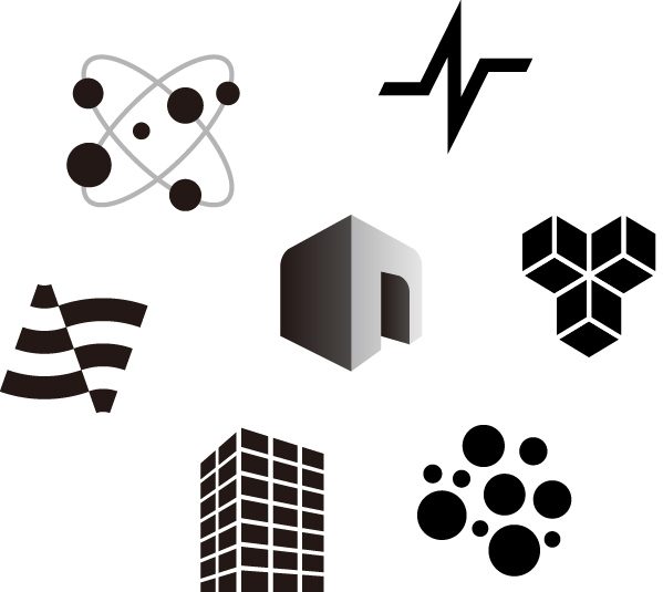 パンフレット・会社案内:ロゴ2