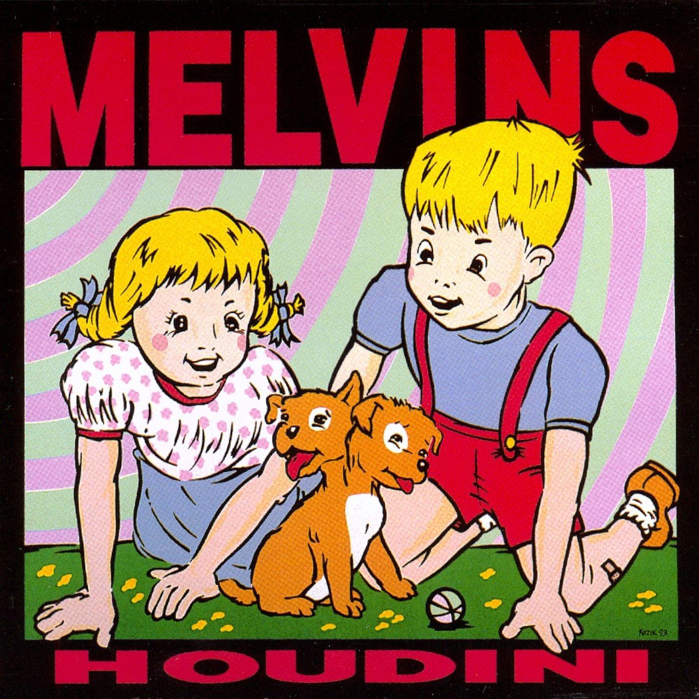 CDジャケットデザイン|MELVINS