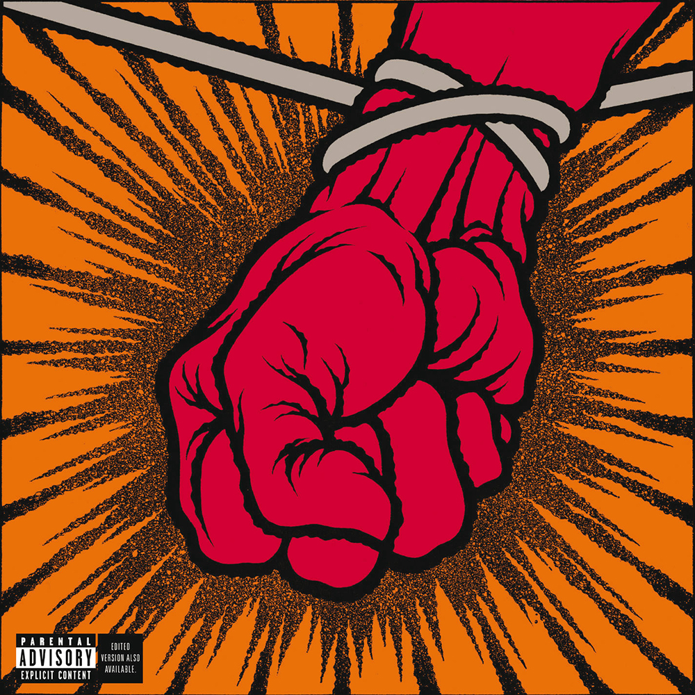 CDジャケットデザイン|Metallica